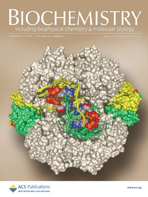 Biochemistry: Volume 53, Issue 5
