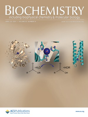 Biochemistry: Volume 53, Issue 15