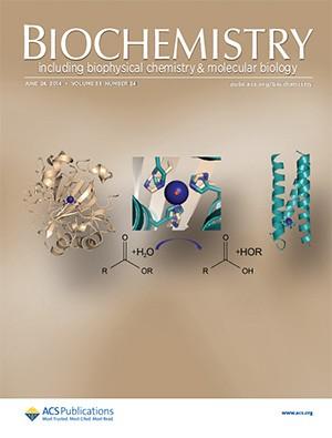 Biochemistry: Volume 53, Issue 24