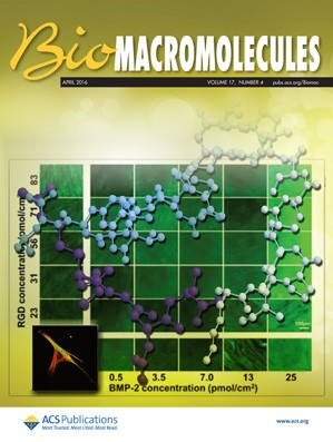 Biomacromolecules: Volume 17, Issue 4