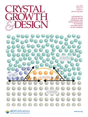 Crystal Growth & Design: Volume 19, Issue 4