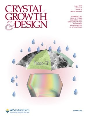 Crystal Growth & Design: Volume 19, Issue 8