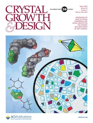 Crystal Growth & Design: Volume 20, Issue 3