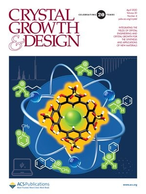 Crystal Growth & Design: Volume 20, Issue 4