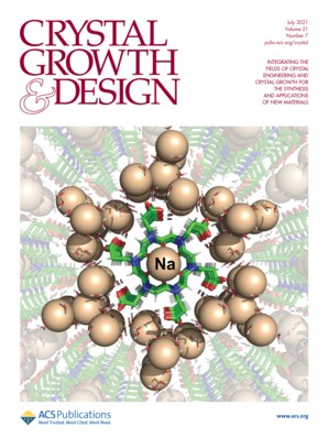 Crystal Growth & Design: Volume 21, Issue 7