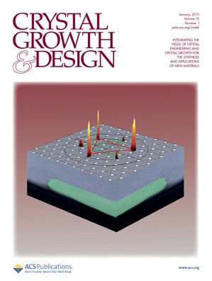 Crystal Growth & Design: Volume 15, Issue 1