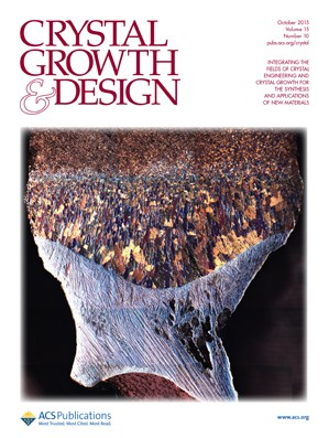 Crystal Growth & Design: Volume 15, Issue 10