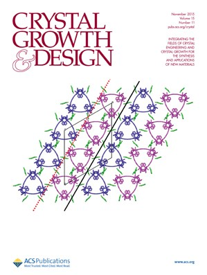 Crystal Growth & Design: Volume 15, Issue 11