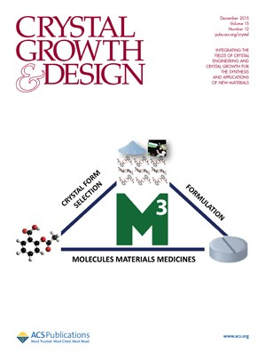 Crystal Growth & Design: Volume 15, Issue 12