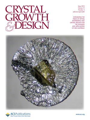 Crystal Growth & Design: Volume 15, Issue 5