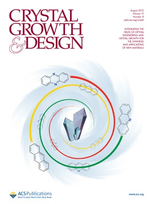 Crystal Growth & Design: Volume 15, Issue 8
