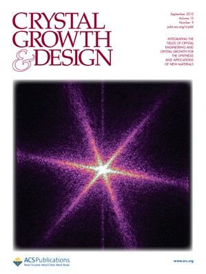 Crystal Growth & Design: Volume 15, Issue 9
