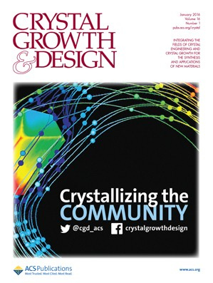 Crystal Growth & Design: Volume 16, Issue 1