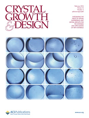 Crystal Growth & Design: Volume 16, Issue 2