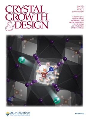 Crystal Growth and Design: Volume 16, Issue 5