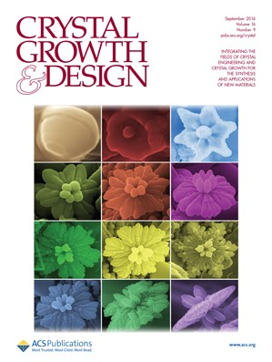 Crystal Growth and Design: Volume 16, Issue 9