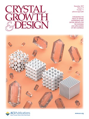 Crystal Growth & Design: Volume 17, Issue 11