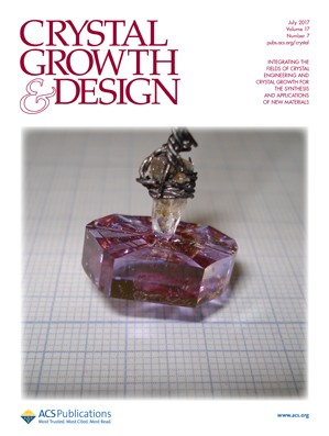 Crystal Growth & Design: Volume 17, Issue 7