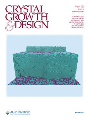 Crystal Growth & Design: Volume 18, Issue 1