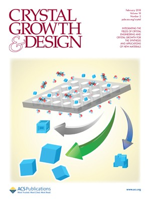Crystal Growth & Design: Volume 18, Issue 2
