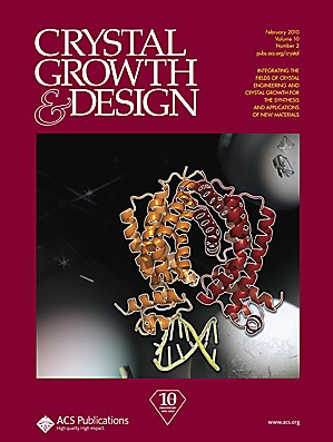 Crystal Growth & Design: Volume 10, Issue 2
