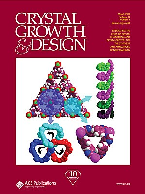 Crystal Growth & Design: Volume 10, Issue 3