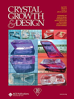 Crystal Growth & Design: Volume 10, Issue 4