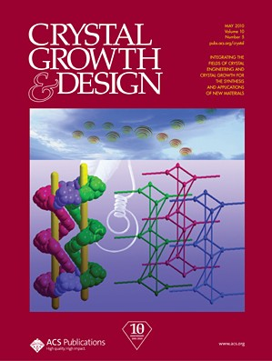 Crystal Growth & Design: Volume 10, Issue 5