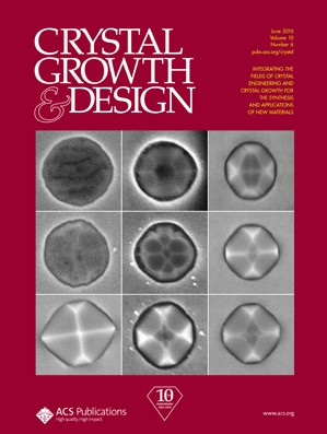 Crystal Growth & Design: Volume 10, Issue 6