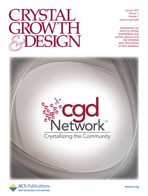 Crystal Growth & Design: Volume 11, Issue 1