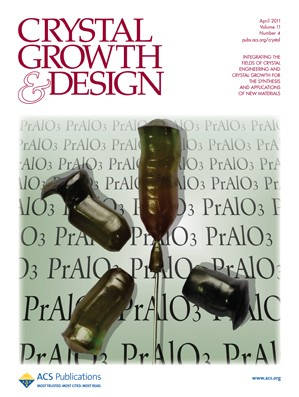 Crystal Growth & Design: Volume 11, Issue 4