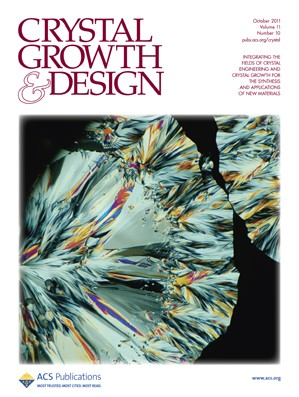 Crystal Growth & Design: Volume 11, Issue 10