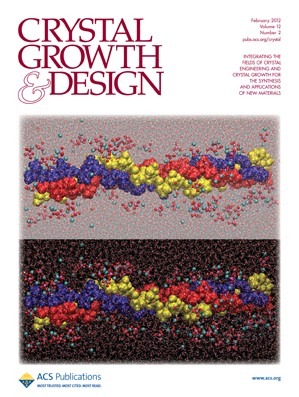 Crystal Growth & Design: Volume 12, Issue 2