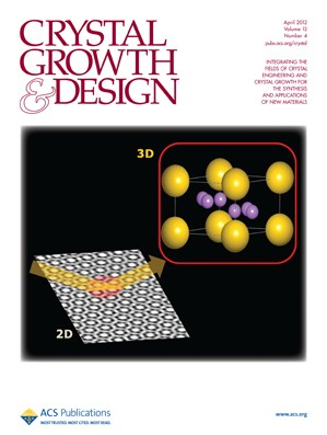 Crystal Growth & Design: Volume 12, Issue 4