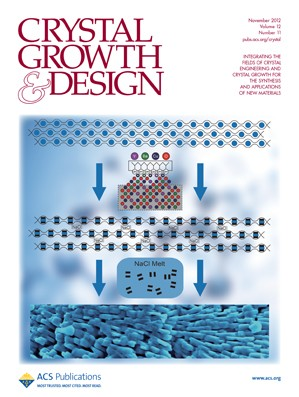 Crystal Growth & Design: Volume 12, Issue 11
