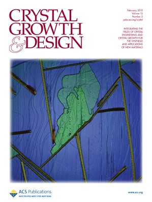 Crystal Growth & Design: Volume 13, Issue 2