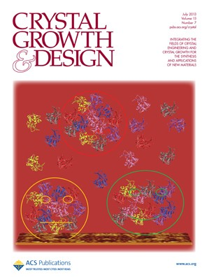 Crystal Growth & Design: Volume 13, Issue 7