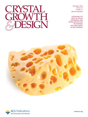 Crystal Growth & Design: Volume 13, Issue 11