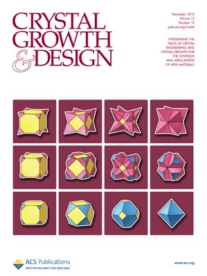Crystal Growth & Design: Volume 13, Issue 12