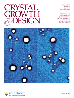 Crystal Growth & Design: Volume 14, Issue 2
