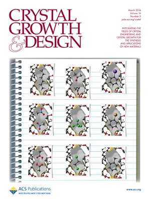 Crystal Growth & Design: Volume 14, Issue 3