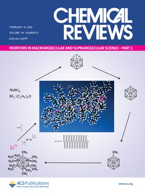 Chemical Reviews: Volume 116, Issue 3