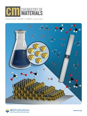 Chemistry of Materials: Volume 31, Issue 4