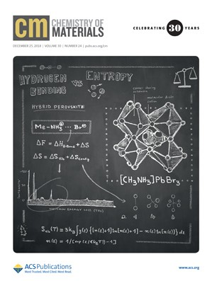 Chemistry of Materials: Volume 30, Issue 24