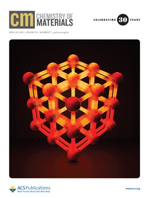 Chemistry of Materials: Volume 30, Issue 7