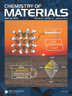 Chemistry of Materials: Volume 22, Issue 12