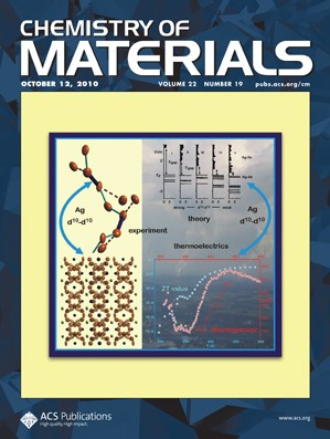 Chemistry of Materials: Volume 22, Issue 19