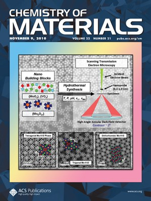 Chemistry of Materials: Volume 22, Issue 21