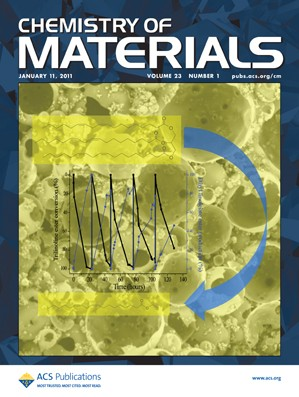 Chemistry of Materials: Volume 23, Issue 1