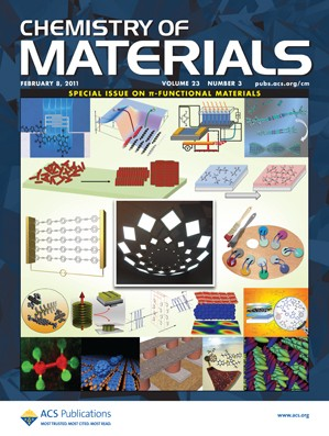 Chemistry of Materials: Volume 23, Issue 3